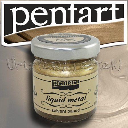 Folyékony fém - Pentart Liquid Metal 30ml
