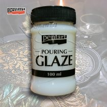 Pouring lakk - Pentart Pouring Glaze