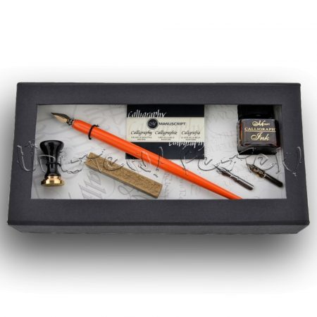 Kalligráfia készlet – Manuscript Calligraphy and Sealing-Wax Art Set