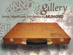 Porpasztell készlet - Mungyo Gallery EXTRA Soft 200 darabos fadobozos