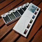 Akvarellfesték készlet - Gansai Shadow Black Set 6pcs