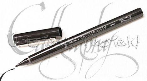 Filc - Japán Marvy Calligraphy - kalligrafikus vágottvégű tustoll