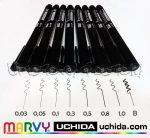 Filc - Marvy UCHIDA Permanent Pen for drawing - alkoholbázisú, tűhegyű és ecsetvégű