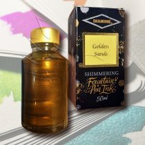 Tus - Diamine Shimmering Fountain Pen Ink 50ml