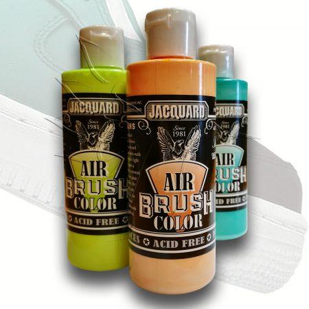 Airbrush festék - Jacquard Air Brush Color 118ml - Iridescent Colors, Green