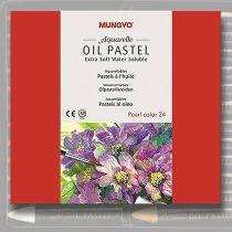 Akvarell Olajpasztell készlet - Mungyo Aquarelle Oil Pastel Extra Soft Water Soluble 24pcs