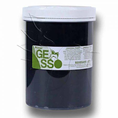 Gesso Alapozófesték - Renesans, 1200ml fekete