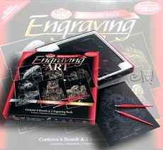 Képkarcoló készlet karctűkkel - Nagy - Royal&Langnickel Engraving ART