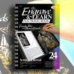 Képkarcoló könyv - Royal&Langnickel Engrave & Learn Fun Travel Book Family Pets and Animal Friends
