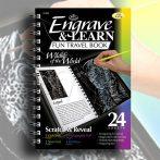 Képkarcoló könyv - Royal&Langnickel Engrave & Learn Fun Travel Book 24