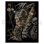 Képkarcoló készlet karctűvel - Royal&Langnickel Engraving ART - GOLD II. - 20x25