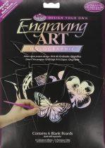 Képkarcoló készlet - Royal&Langnickel Engraving ART - HOLOGRAPHIC- minta nélkül, 12,5x17,5cm