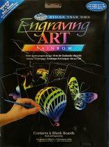 Képkarcoló készlet - Royal&Langnickel Engraving ART - RAINBOW- minta nélkül, 20,5x25,5cm