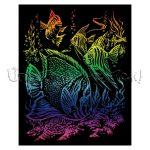 Képkarcoló készlet karctűvel - Royal&Langnickel Engraving ART - RAINBOW I. - 20x25cm
