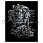Képkarcoló készlet karctűvel - Royal&Langnickel Engraving ART - SILVER II - 20x25cm
