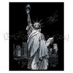 Képkarcoló készlet karctűvel - Royal&Langnickel Engraving ART - SILVER III - 20x25cm