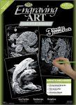 Képkarcoló készlet karctűvel - Royal&Langnickel Engraving ART - SILVER - 3 darabos