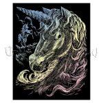 Képkarcoló készlet karctűvel - Royal&Langnickel Engraving ART - HOLOGRAFIKUS - 20x25cm