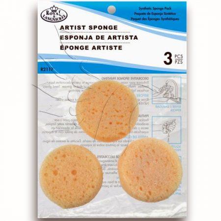 Festő Szivacsok - Royal Synthetic Sponge - 3db-os készlet