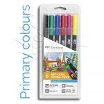 Filckészlet - Tombow ABT Dual Brush Pen Set 6db