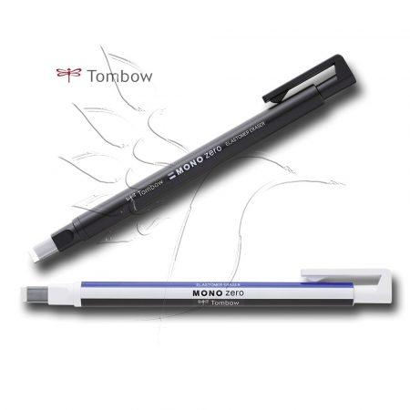 Radírtoll - Tombow Elastomer Eraser Mono Zero - téglalap: 2,5x5mm
