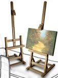Asztali festőállvány