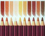Színes ceruzakészlet, kiegészítőkkel