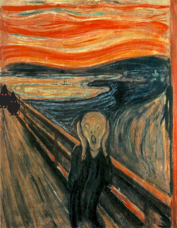 Edvard Munchs: Sikoly