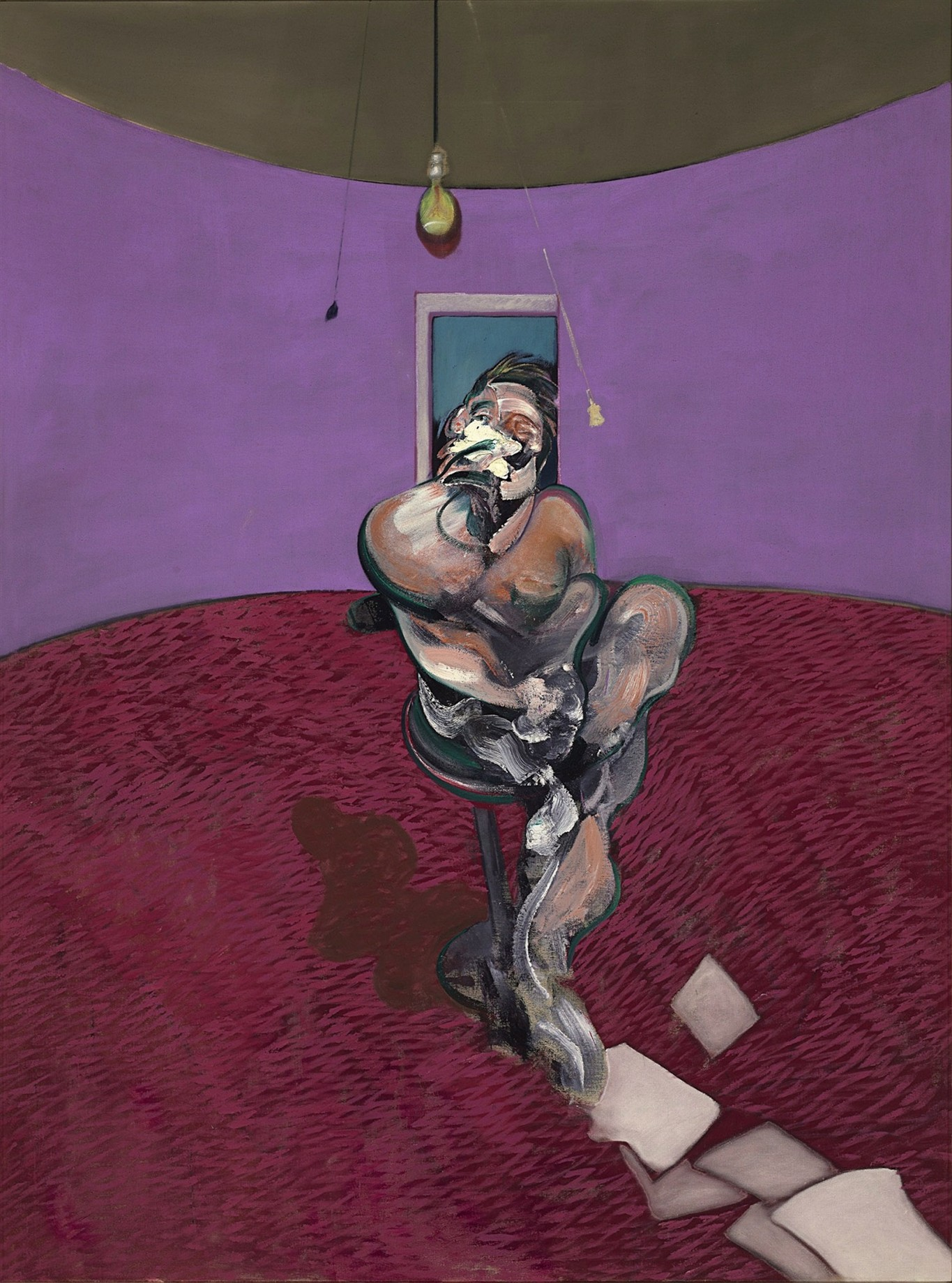 Francis Bacon: Portrait of George Dyer Talking