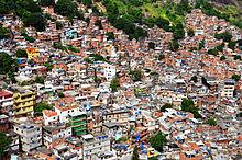 Favela - brazil szegénynegyed