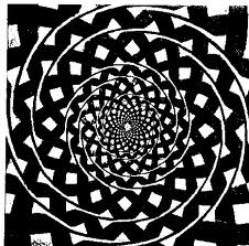 fekete-fehér spirál 6