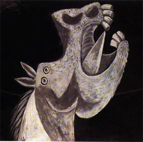Picasso - Lófej