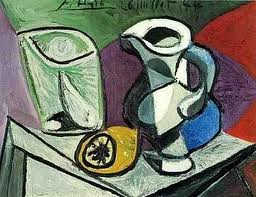 Picasso - Üveg és korsó