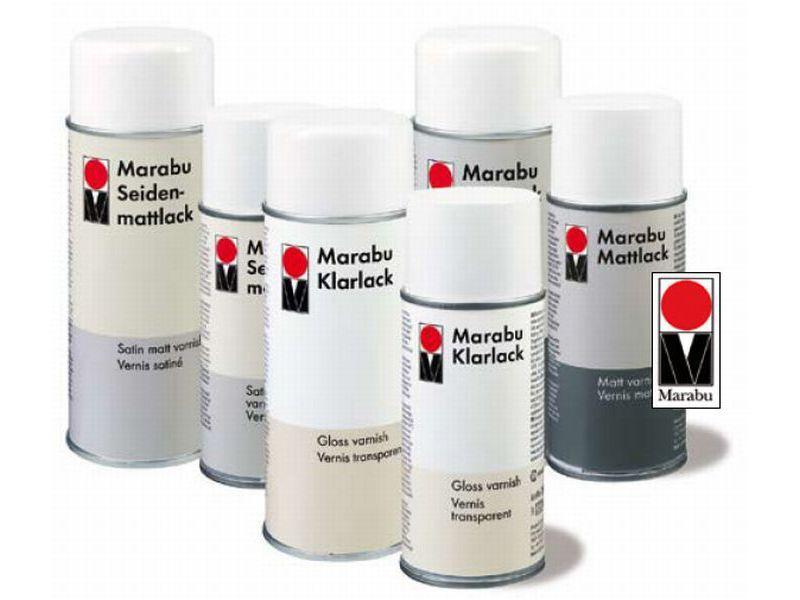 Fixative - Marabu fixative spray 150ml, 400ml