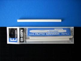 Radír - Uni Auto Eraser radírtollbetét - 3db/csomag