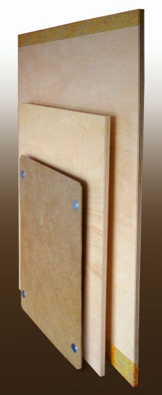 Drawing Board A2, 46 * 60 * 0.8 cm laminated pine