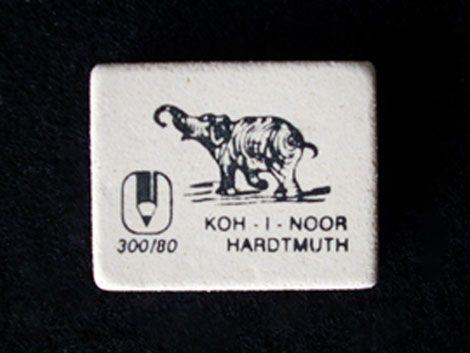"""KOH-I-NOOR RADÍR """"elefántos"""" - KÜLÖNBÖZŐ MÉRETBEN"""