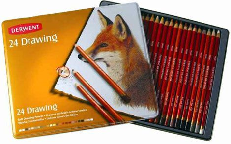 Color Pencil Set - Derwent Drawing (Pitt), in different package sizes!