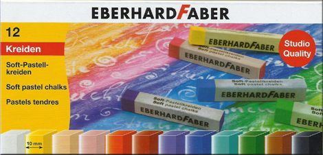 Soft Pastel Set - EberhardFaberl 12 pc