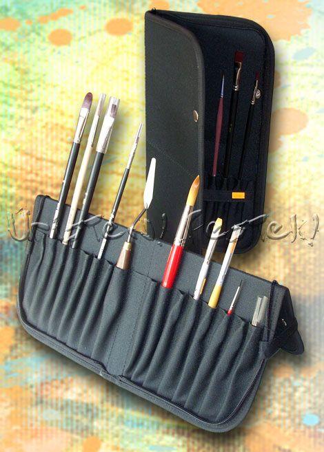 Large Brush Holder - Zipper Case