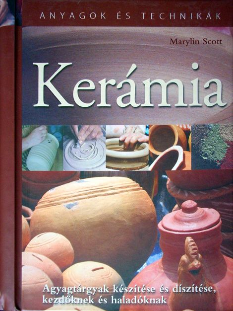 Ceramics - Book in Hungarian