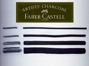 Rajzszén - Faber-Castell égetett szén - KÜLÖNBÖZŐ