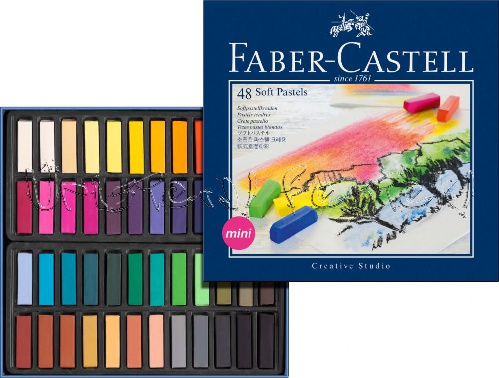 Porpasztell készlet - Faber-Castell Pasztellkréta készlet - 72db, feles