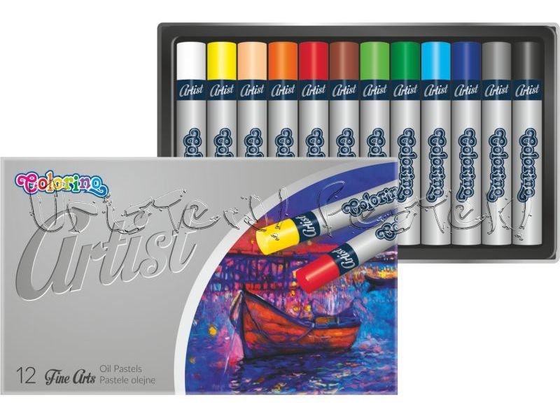 Oil Pastel Set - Derwent Academy - 12 pc