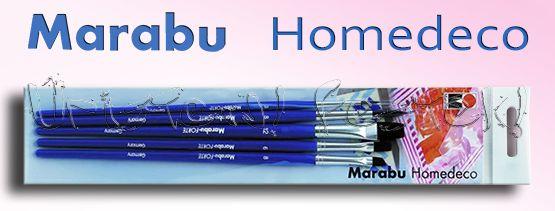 Marabu Acryl Brush Set - 4 pcs