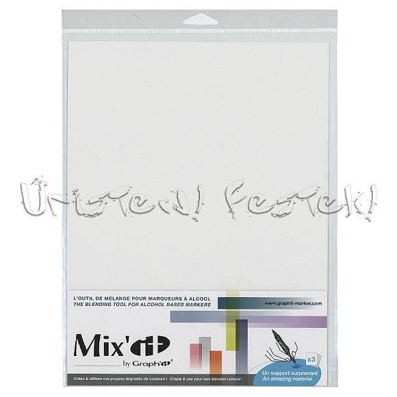 Keverőpaletta - Mix'it Blending Tool Graph'it kétvégű alkoholos dekorfilchez - 3db/csom