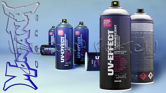 Montana UV-EFFECT Luminescent - lakkszóró spray, 400ml