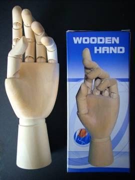 Szobrász modell kéz